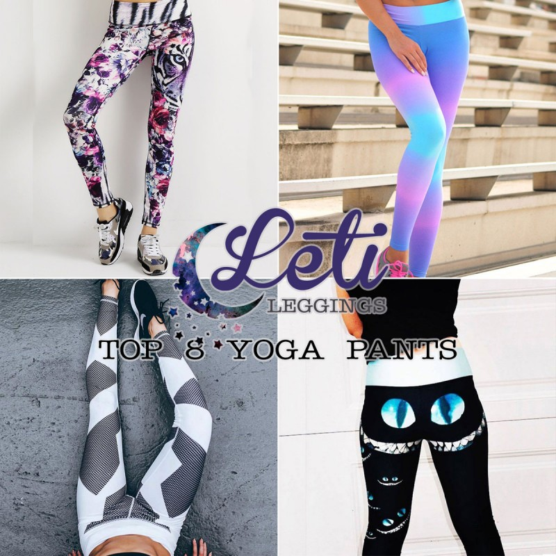 Our Top 8 Yoga Pants (Hint: NOT Your Classic Black Legging)