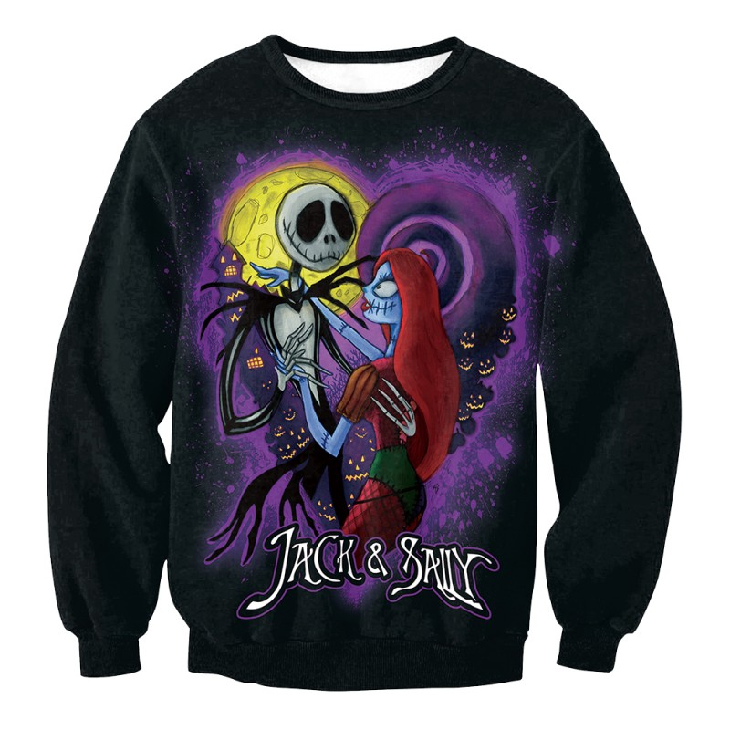 The Nightmare Before Christmas Jack Sally Sweatshirt