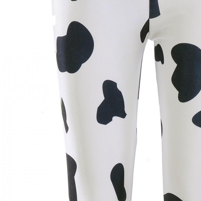 725146d2637cce Cow Print Women's Leggings Printed Yoga Pants Workout