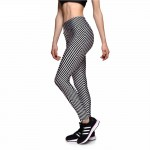 Chevron Stripes Women's Leggings Printed Yoga Pants Workout
