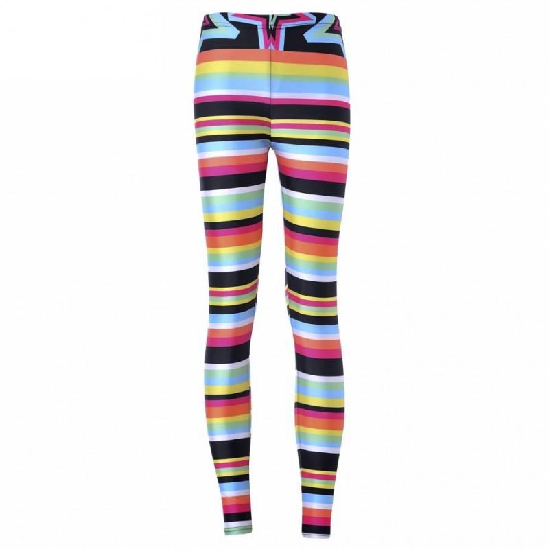 86bfb8bc3dd69 Retro Super Star Women's Leggings Printed Yoga Pants Workout