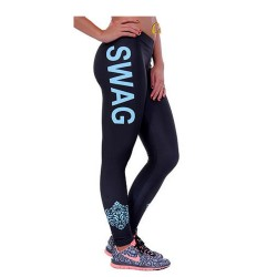 Baroque Swag Women's Leggings Printed Yoga Pants Workout