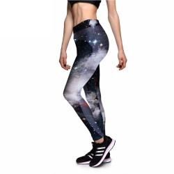 Dark Galaxy Activewear Women's Leggings Printed Yoga Pants Workout