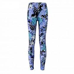 Blue Koi Women's Leggings Printed Yoga Pants Workout