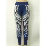 Angel Wings Women's Leggings Printed Yoga Pants Workout Activewear