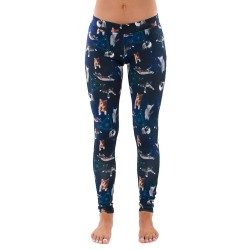 Cats in Space Women's Leggings Yoga Workout Capri Pants