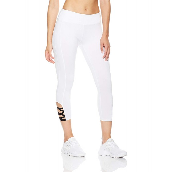 Ballerina Activewear Solid Colors Women's Leggings Yoga Workout Capri Pants