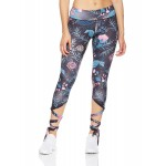 Ballerina Mid Waist Women's Leggings Yoga Workout Capri Pants