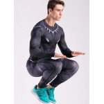 Black Panther Civil War Men's Leggings Compression Tights