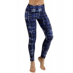 Blue Graphics Women's Leggings Printed Yoga Pants Workout