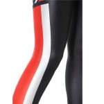 Mass Effect N7 Black, Red and White Women's Leggings Yoga Workout Capri Pants