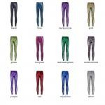 Mermaid Scale Women's Leggings Yoga Workout Capri Pants - 12 Colors to Choose