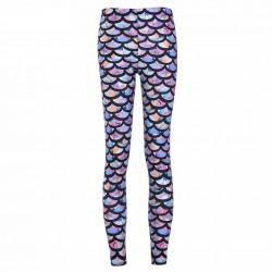 Rainbow Mermaid Women's Leggings Printed Yoga Pants Workout