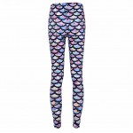 Rainbow Mermaid Women's Leggings Printed Yoga Pants Workout