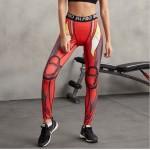 Iron Man Women's Leggings Yoga Workout Capri Pants Compression Tights