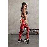 Iron Man Women's Leggings Yoga Workout Capri Pants Compression Tights