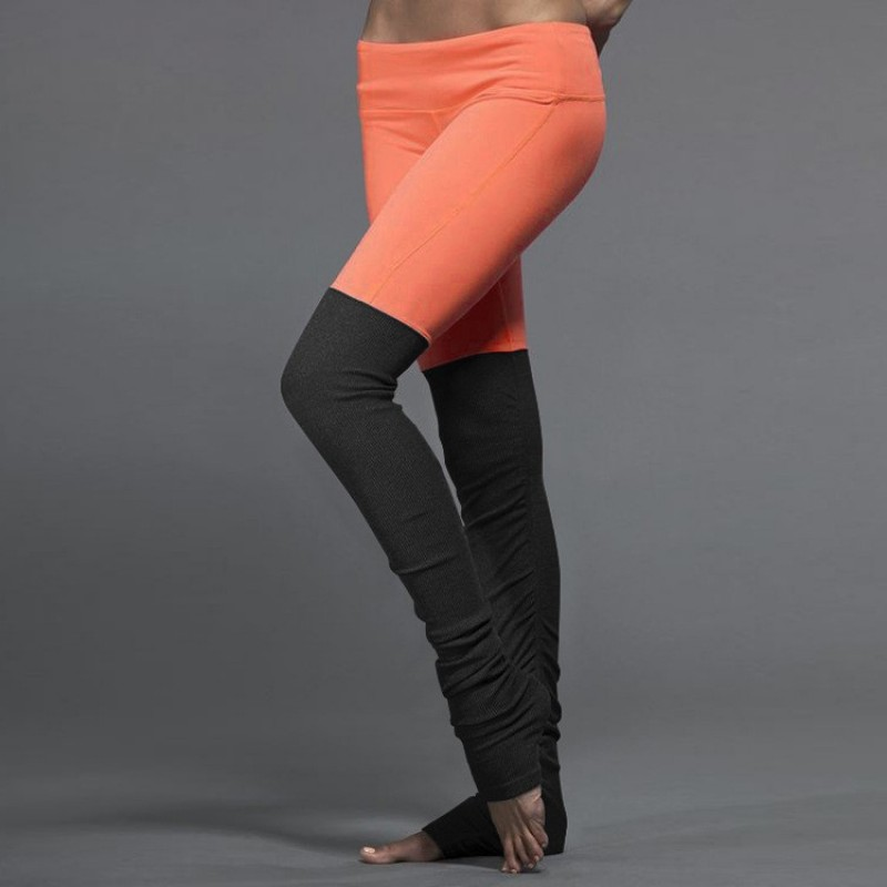 Leg Warmer Women's Leggings Printed Yoga Pants Workout