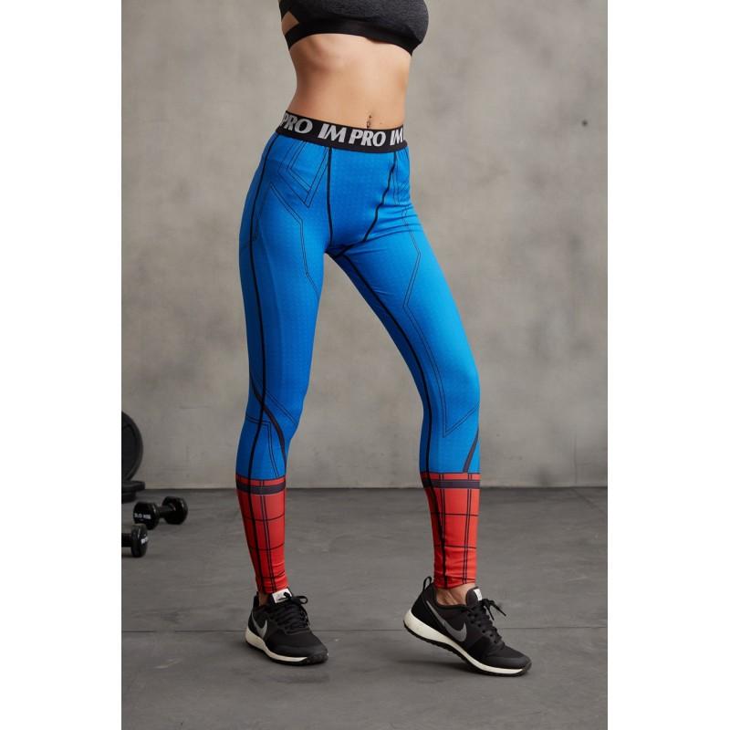 Spiderman Civil War Women's Leggings Yoga Workout Capri Pants ...