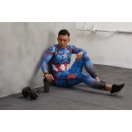 Captain America Men's Leggings Compression Tights