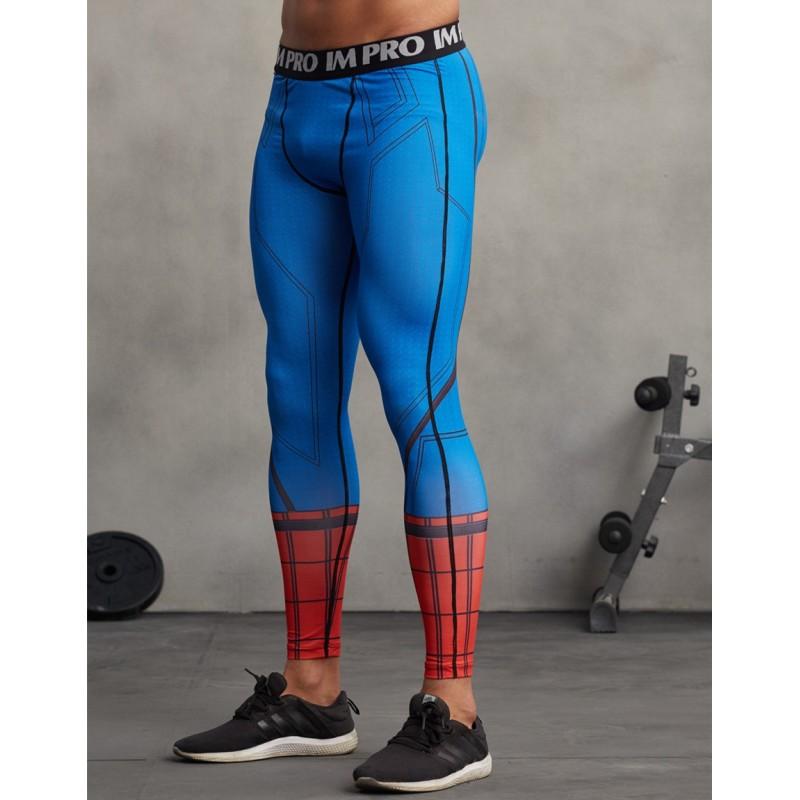 19406254f4 Spiderman Men's Leggings Compression Tights