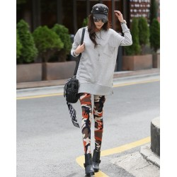 Camouflage Women's Leggings Yoga Workout Pants