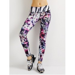 Floral Tiger Women's Leggings Yoga Pants Workout Fitness