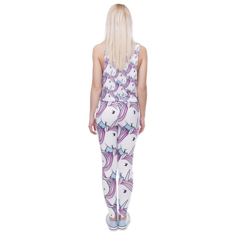 Fluffy Unicorn Women's Leggings Yoga Pants Workout