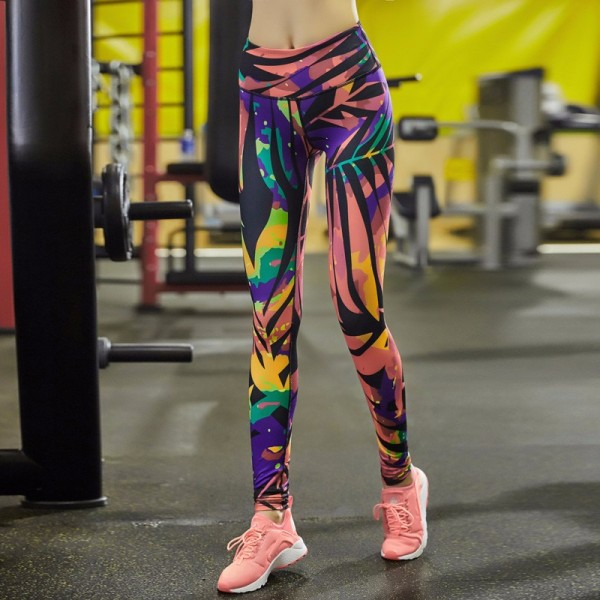 Living in the Wild Women's Leggings Printed Yoga Pants Workout