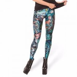 Merman Women's Leggings Printed Yoga Pants Workout