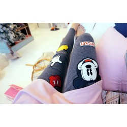 Mickey Mouse Pieces Women's Leggings Printed Yoga Pants Workout