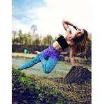 Mosaic Mermaid Women's Leggings Printed Yoga Pants Workout