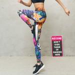 Rude Girl Women's Leggings Printed Yoga Pants Workout