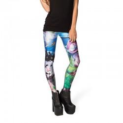 Peter Pan Women's Leggings Printed Yoga Pants Workout