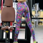 Psychedelic Paisley Women's Leggings Printed Yoga Pants Workout