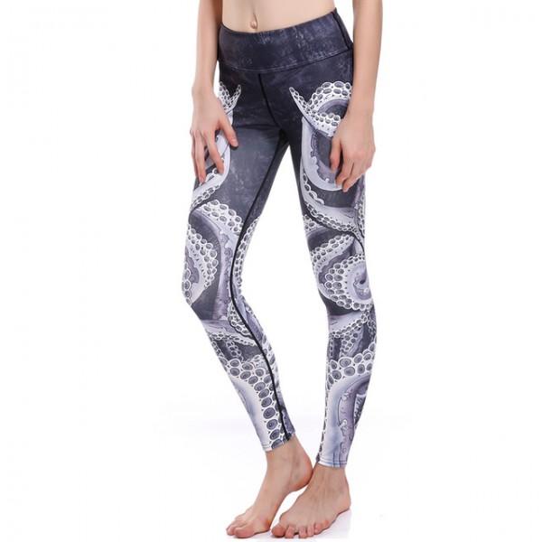 The Kraken Women's Leggings Printed Yoga Pants Workout
