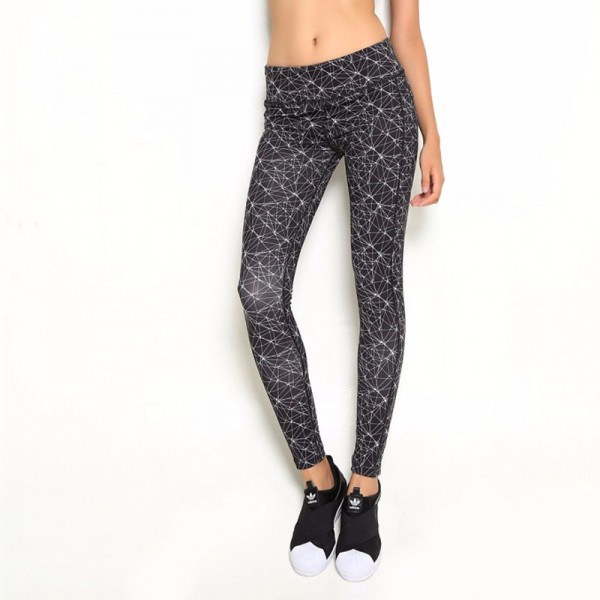 Geometrical Patterns Women's Leggings Printed Yoga Pants Workout