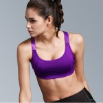 Runners Support Push-Up Sports Bra Yoga Workout