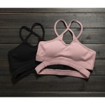 Twisted Bandage Halter Sports Bra  - Quick Dry Workout Breathable Yoga
