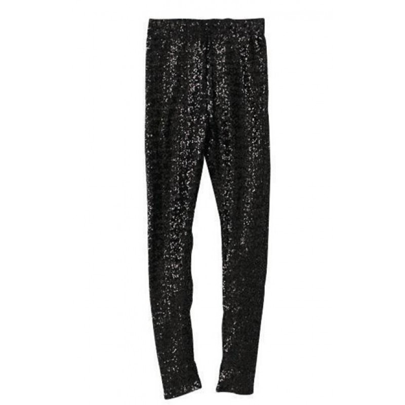 Gold and Silver Sequin Bling Bling Women's Leggings Yoga Workout ...